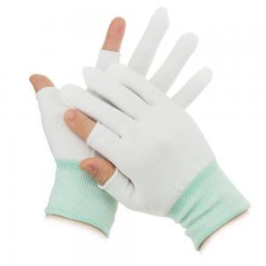 Quality S M L XL 10g Half Finger Palm Fit ESD Carbon Gloves wholesale