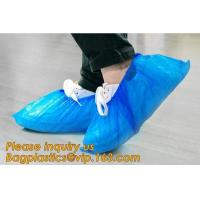 Quality custom waterproof SMS pp non woven medical surgical use Polypropylene Disposable Shoe Cover non skid anti skid bagease wholesale