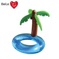 Quality Water pool inflatable palm tree swimming ring for summer wholesale