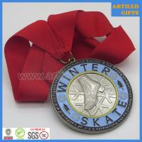 Quality A US Figure Skating Sanctioned Artistic & Ice Dance Competiton reward medal wholesale