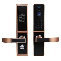 Quality Bilateral Optical Finger Vein Recognition Highly Secured Biometric Smart Door Lock wholesale