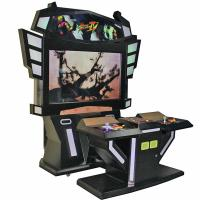Quality Street Fighter Stand Up Arcade Game Machine 200W One Year Warranty wholesale
