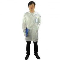 Quality 5mm Strip Cleanroom Smock wholesale