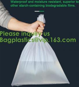 Quality Plastic Corn Starch Wholesale Custom Printed Private Label Cornstarch Compostable Pet Dog Waste Bag Biodegradable wholesale