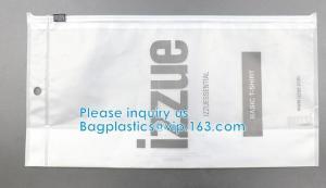 Quality HOOK HANDLE BAGS, RIGID HANDLE ZIPPER BAGS, SWIMWEAR BAGS Custom Hanging Hook Packaging Bag wholesale