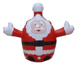 Quality PVC inflatable santa claus wholesale