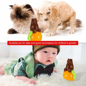 Quality Christmas gift tumbler cat toy funny tumbler pet cat dog toy sunds Light wholesale