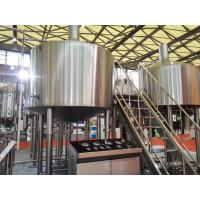 Quality Touch Screen Large Home Brewing Equipment 2000L Sus304 Brewhouse Equipment wholesale