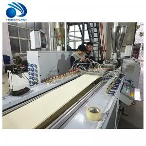 Quality Panel Making Plastic Profile Production Line , Ceiling Pvc Window Profile Extrusion Line wholesale