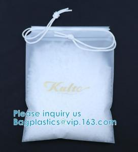 Quality Biodegradable Drawstring Laundry Bag With Printing,Logo Printed Poly Drawstring Hotel/Travel Laundry Plastic Bag wholesale