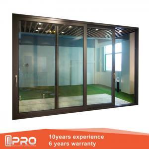 Quality Aluminum Sliding Glass Patio Doors , Modern Design Custom Sliding Glass Doors wholesale