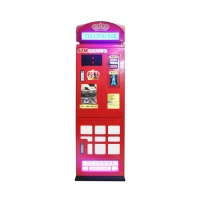 Quality 80W Token Vending Machine Secure Bill To Coin Changer With ICT Bill Acceptor wholesale