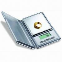 Quality Jewelry Pocket Scale of High Precisionn with 1 x 3V Lithium Cell (CR2032) Power wholesale