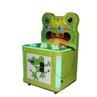 Quality Commercial Frog Hammer Kids Arcade Machine 80W 12 Months Warranty wholesale