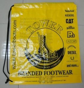 Quality Drawstring Shopping bags, Soft loop, Die cut handle, Flexi loop handle, Thermal bags wholesale