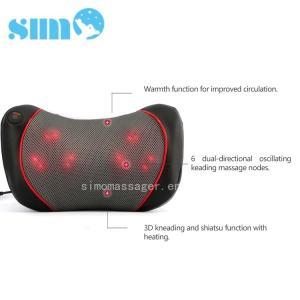 Quality One Button Control Electric Massage Pillow Homedics 3d Shiatsu Massage Pillow With Heat wholesale