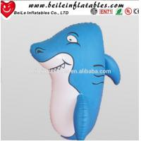 Quality 1MH Factory direct hot sale blue PVC inflatable roly-poly toy for kids wholesale