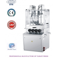 Quality Mechanical&Electrical Integration Core-covered  Tablet Compression Machine Sustained-release Pill Tablet Press Machine wholesale