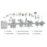 Quality High Speed Tablet Counter , Tablet Counting Filling And Tablet Bottling Production Line wholesale