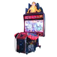 Quality Two Players Shooting Arcade Game Machine / Aliens Deluxe Model Shooting Video Game wholesale