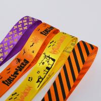 Quality Wholesale 100% Polyester Printed Grosgrain Ribbon wholesale