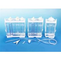 Quality Portable Vacuum Drainage System Wound Care Double chamber 2500ml Fr16 Fr18 wholesale
