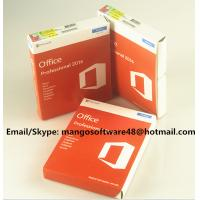 Quality 32 / 64 Bit Office 2016 Pro Plus Retail For Global Area Full Functions wholesale