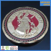 Buy cheap Free proof quality guaranteed Saint Florian protect us fire fighter prayer coin from wholesalers