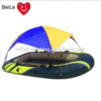 Quality Rigid hull Inflatabable boat with tent for sale wholesale