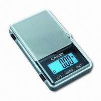 Quality Jewelry Pocket Scales of High Precision, Auto Zero and Tare, Low Battery and Overload Indication wholesale