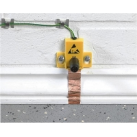 Buy cheap ESD earth facility with test point 4mm socket and 2m long copper tape from wholesalers