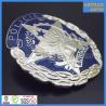Buy cheap Cheap metal enamel República de Angola policia badges with screw lock from wholesalers