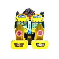 Quality 2 Player Coin Operated Car Racing Game Driving Simulator For Game Room wholesale