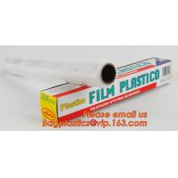 Quality surface protection PE best fresh cling film, China stretch cling wrap manufacturer pe food wrap with sample wholesale