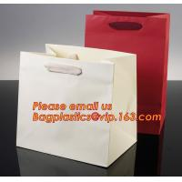 Quality Luxury shopping paper bag, different types design custom paper shopping bag wholesale