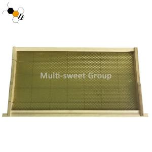 Quality Beekeeping 483*448*159mm Honey Bee Frames With Wax Foundation wholesale