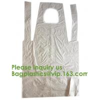 Quality PBAT+PLA Compostable disposable plastic apron,100% Biodegradable & Compostable disposable,Safe and Healthy, bagease, pac wholesale