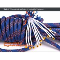 Quality personal protective escape rope polyester rope, high strength fire escape safety climbing rope wholesale