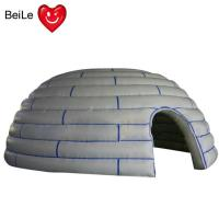 Quality 210D  reinforced oxford material Kids outdoor and indoor Inflatable dome play forts wholesale