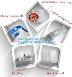 Quality cushion pillow air bag, cushion pillow dunnage air bag, air poly packing bag nylon air bubbles air pillow bag, bagplasti wholesale