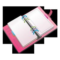 Quality deluxe Leather daily desk diaries wholesale