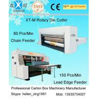 Quality Corrugated Carton Box Rotary Die-Cutting Machine For Colorful Cartons / Boxes wholesale