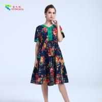 Quality YIZHIQIU Casual Dresses cotton anti-static dress wholesale