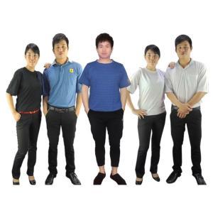 Quality Blue Black 150g 96% Cotton 4% Conductive Fiber ESD T Shirts wholesale