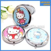 Hello Kitty stainless steel foldable makeup mirror 5