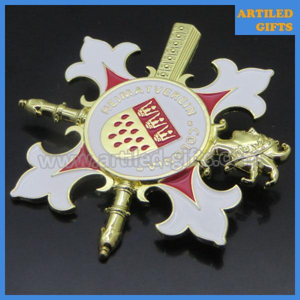 Heimatverein Colonia 3D metal pin badge 4