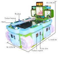 Quality 200W Excavator Coin Prize Machine 5 Players 220V/110V  For Theme Park wholesale