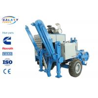 Quality 2.5km/H Electrical Cable Pulling Equipment , 4800kg Hydraulic Cable Puller wholesale