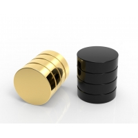 Buy cheap New Design Ready Mold Gold Color Zamac Perfume Caps For Bottles from wholesalers