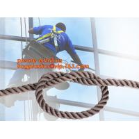 Quality wall-wash nylon twisted safety rope, wall-wash nylon safety rope wholesale